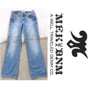 Mek Wide Leg Jeans 26 x 34